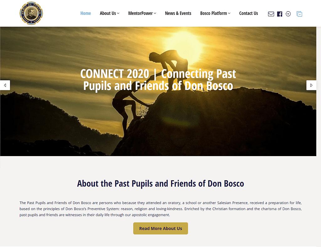 friendsofdonbosco.com developed by Maltasite