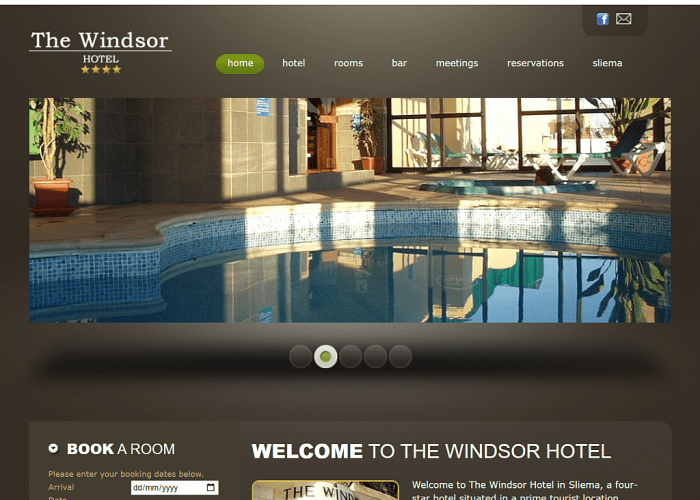 Screenshot From The Windsor Hotel